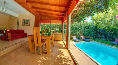 Photo for 2 bedroom traditional cottage with private pool