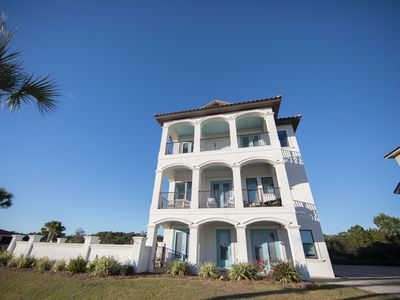 Photo for Beautiful 6 bd on 30A, at Beach Access, Private Pool, Free Beach Service, Bikes!