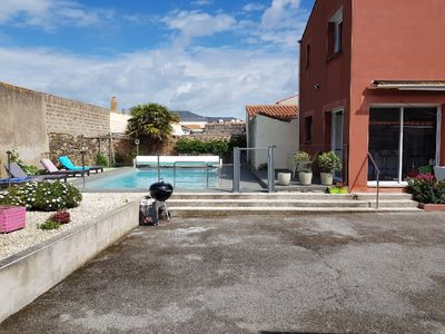 Photo for Large townhouse with pool in La Chaume neighborhood