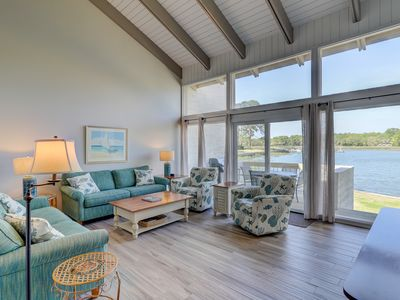 Photo for 1606 Port Villa - Stunning views of Braddock Cove & Steps to the Marina.