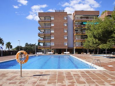 Photo for AT178 PINS: duplex for 8 on the first line, with pool, parking, wifi and airco