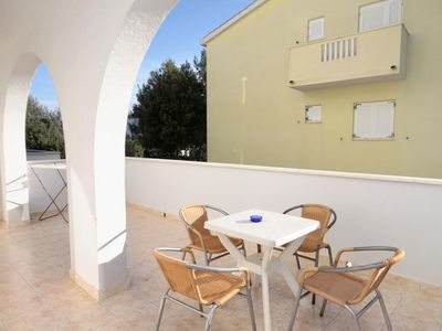 Photo for One bedroom apartment with terrace Sevid, Trogir (A-6024-g)