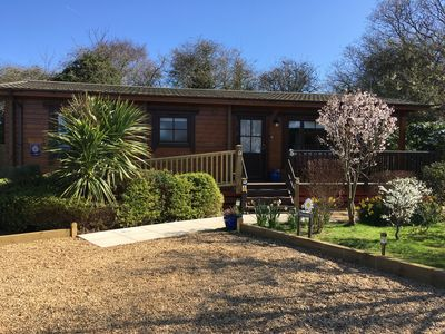 Photo for Cherry Lodge, Cedar Springs, Self Catering Log Cabin, Heacham,Close to the Beach