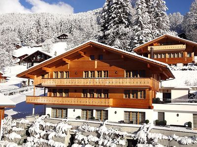 Photo for Apartment Chalet Rotstöcki in Grindelwald - 2 persons, 1 bedrooms