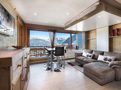 Photo for RE009A: Renovated with taste and splendid view on the mountains