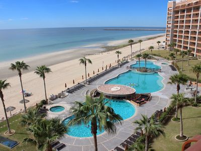 Photo for SE 605 Lovely 6th floor ocean front condominium at the Sonoran Sun Resort