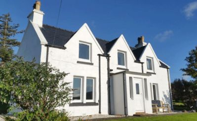 Photo for Self Catering cottage in quiet location with stunning views on the Isle of Skye