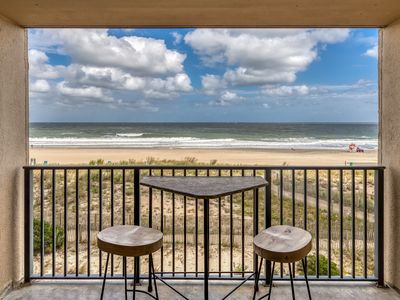 Photo for Oceanfront condo with balcony, spectacular views, and shared pools