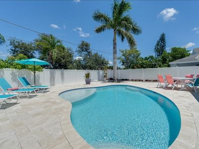Photo for APRIL DATES STILL OPEN * Private, Open-air Salt Water Pool Home