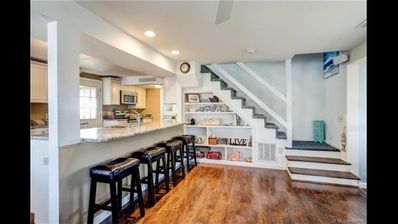 Photo for RENOVATED OPEN FLOOR PLAN 1 Block to Beach, 1 Block to Bay