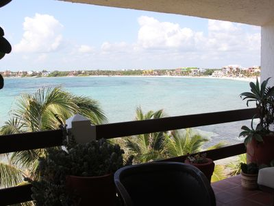 Photo for SEAWEED FREE BEACH+  360 Views, Beach Front, Pool & Outdoor Living