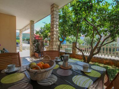 Photo for Family Apartment Sanja with nice terrace for perfect vacation