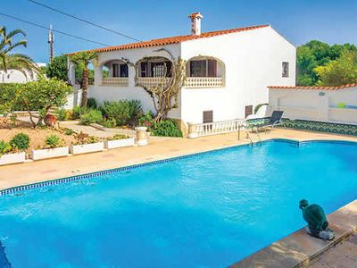 Photo for Simply furnished villa near town w/ beautiful gardens & pool + free Wi-Fi