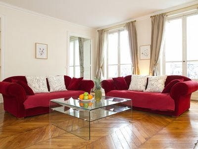 Photo for IN THE HEART OF THE LEFT BANK - SPACIOUS 3BR BY ST GERMAIN - MONTPARNASSE