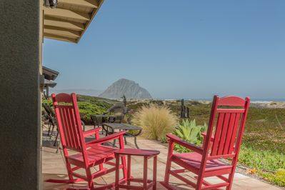 Relax with all your friends and family on the amazing oceanfront patio
