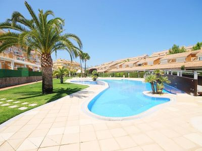 Photo for One bedroom Apartment, sleeps 4 in Javea with Pool and Air Con