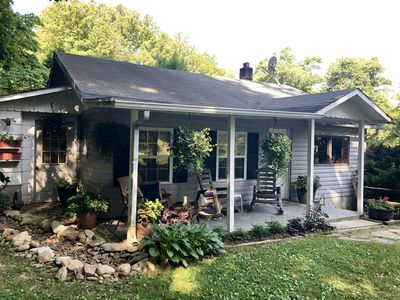 Photo for New! Sweet thing 2 bedroom,1 bath cottage located in beautiful WNC, Pet Friendly
