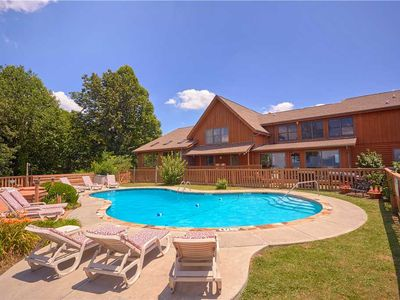 Photo for Von Bryan Estate | Private Pool | Panoramic Mountain Views | Hot Tubs | Theater Room | Fire Pit