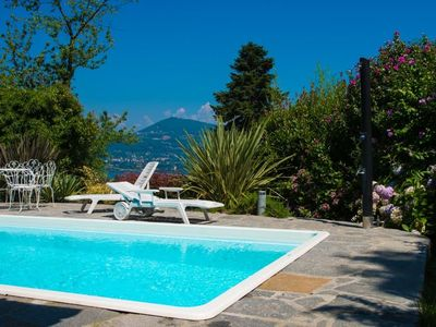 Photo for Villa Varesina is on the South-East side of Lake Maggiore, offering a pool, near a pretty harbour