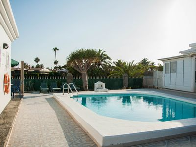 Photo for Lovers of tranquility Maspalomas Bungalow
