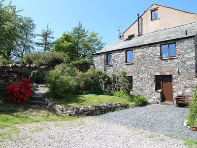 Photo for Spacious Lake District cottage in stunning location. Wood burner, pet friendly.