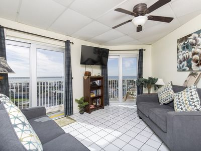 Photo for Couple's Retreat or Small Family Getaway! Heated Pool, Picture Perfect views of the Bay!