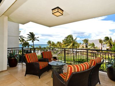 Photo for Third Floor Sunset View 2 Bed, 2 Bath Beach Villa at Tree Top level by Ola Properties (B3W)