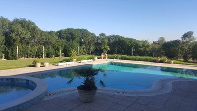 Photo for Holiday home - events (High standing - beautiful garden and pool)