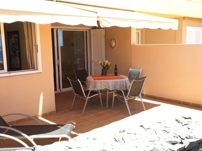Photo for quiet apartment with a dream terracce, swimming pool, near the beach