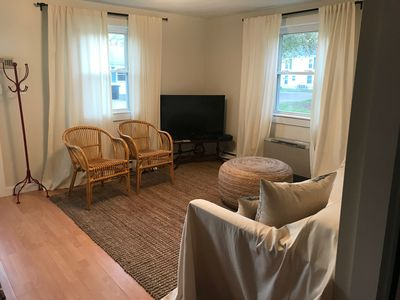 Photo for Peaceful Beach Cottage - 10 minute walk to Scarborough Beach, Narragansett