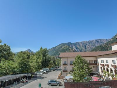 Photo for Grand View Suite: Elegant in Town Condo with Stunning Mountain Views!