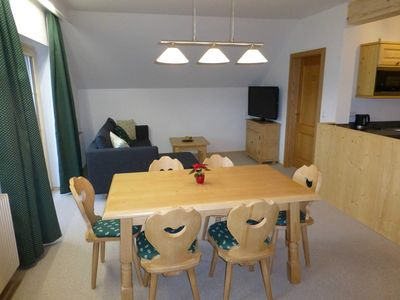 Photo for Large One-Bedroom Apartment, Balcony 1 - Apparthaus Sonnenberg