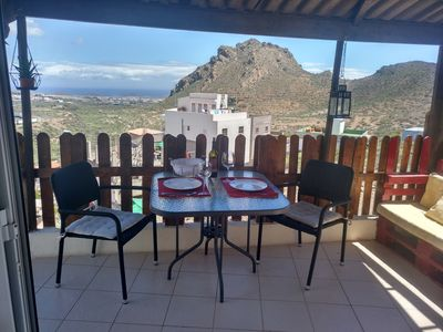Photo for Casa Sandra, tranquility and view from far to the sea and mountain