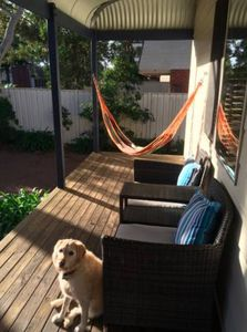 Photo for Cottage@Callala Beach - Pet friendly, trampoline and cubby house, free wi-fi