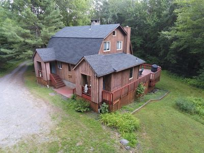 Photo for Windham NY, spacious home for families with kids