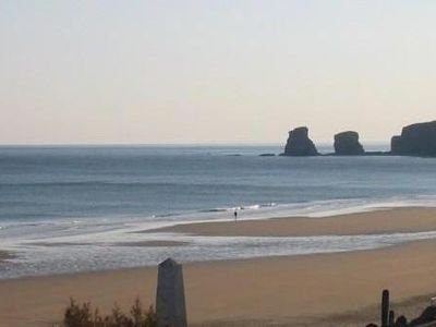 Photo for Rental apartment 3 rooms Hendaye Plage sea-front prox downtown