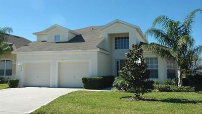 Photo for 2 Miles from Disney 5bed 5bath Luxury Rental with Private Pool