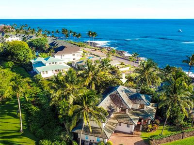 Photo for Gorgeous 5 Bedroom Ocean View home next to the ocean!