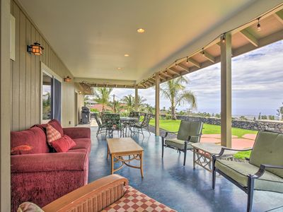 Photo for Kailua-Kona Home w/View, Mins From Coffee Country!