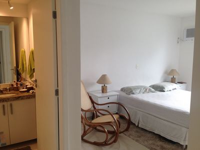 Photo for 3 suites in Praia da Charitas, near the Catamarã-Rio, commerce and driving