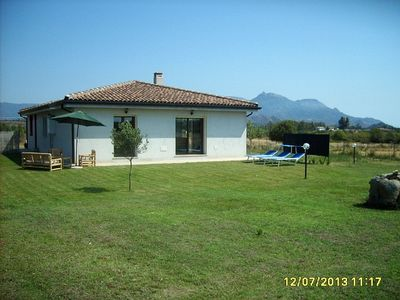 An independent villa lain at two km from Girasole.