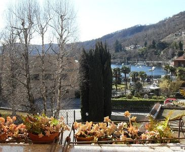View from the terrace in Winter