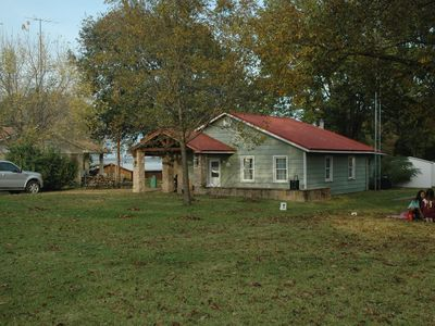 Photo for Lake front quiet cove Lake House w/open water view long-term/ recurring rental