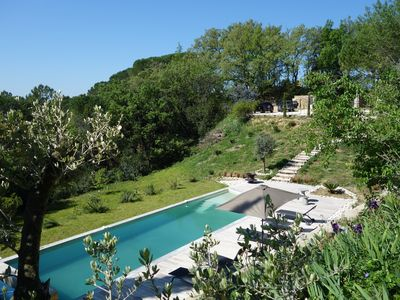 Photo for The comfort of the modern in a renovated farmhouse with swimming pool