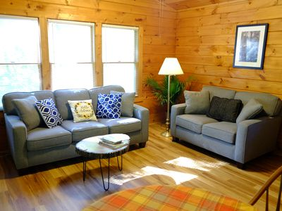 Photo for ♥♥ Mountain Cabin Hide-away in the  Smokeys!
