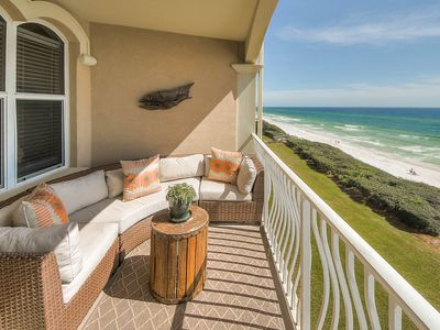 Photo for NEW LISTING: Gulf Front Condo near Alys Beach, Heated Gulf Front Comm Pool