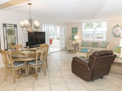 Photo for Two bedroom/ two bath condo beachside on the white sands of Siesta Key's finest