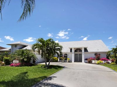 Photo for Gulf access pool home with boat dock, free WIFI