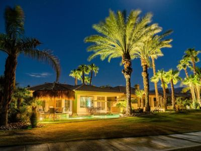 Photo for BREATHTAKING PARADISE - POOL/SPA/BAR/FIRE PIT + LOUNGE AREAS! PGA WEST!