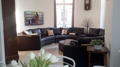 Photo for In a beautiful Haussmanian style building, completely renovated Duplex 120 m²
